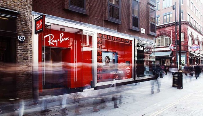 Ray-Ban Winkels Concept store London
