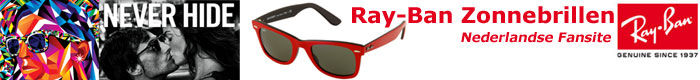Ray-Ban fansite header
